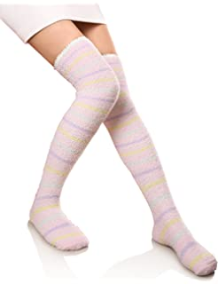 Knee High Socks Fierce Cat Womens Work Athletic Over Thigh High Long Stockings