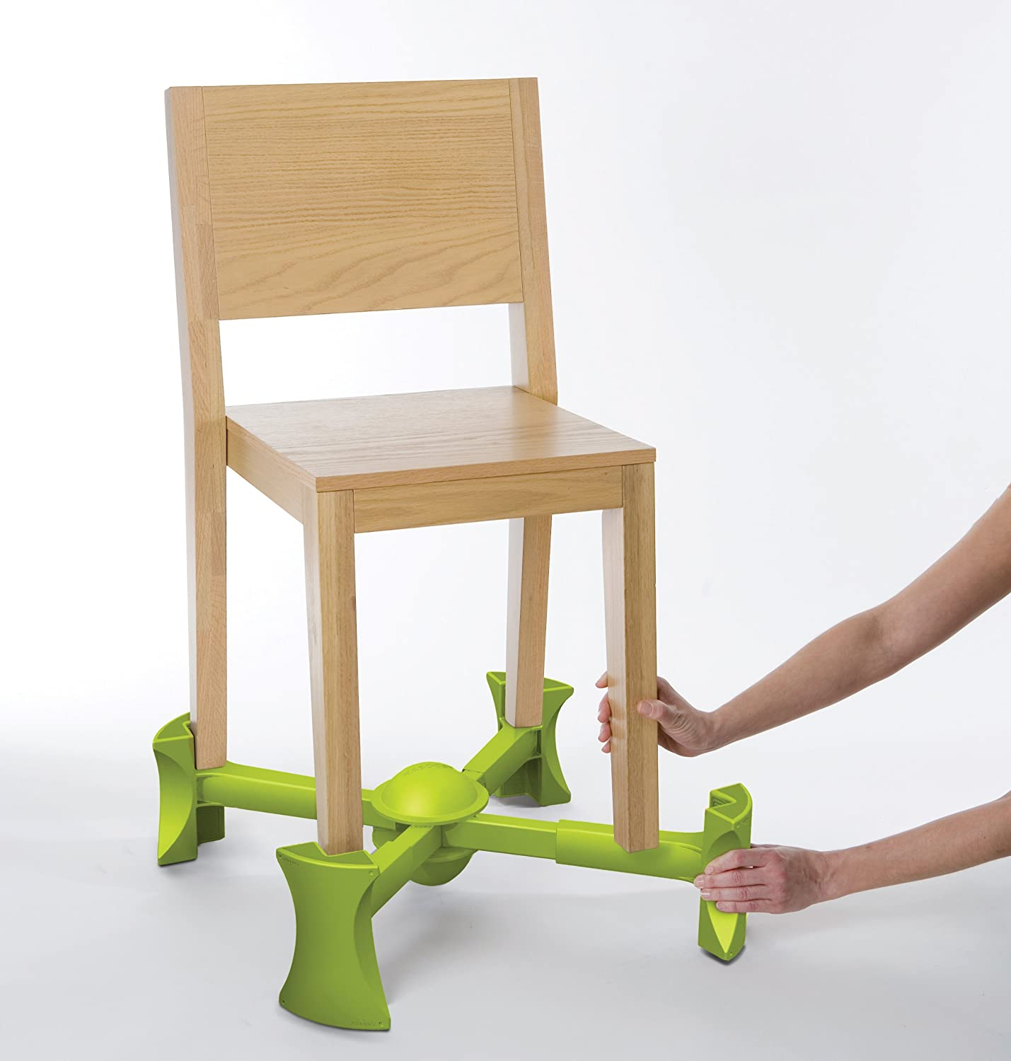 Amazon Kaboost Booster Seat for Dining Green Goes Under