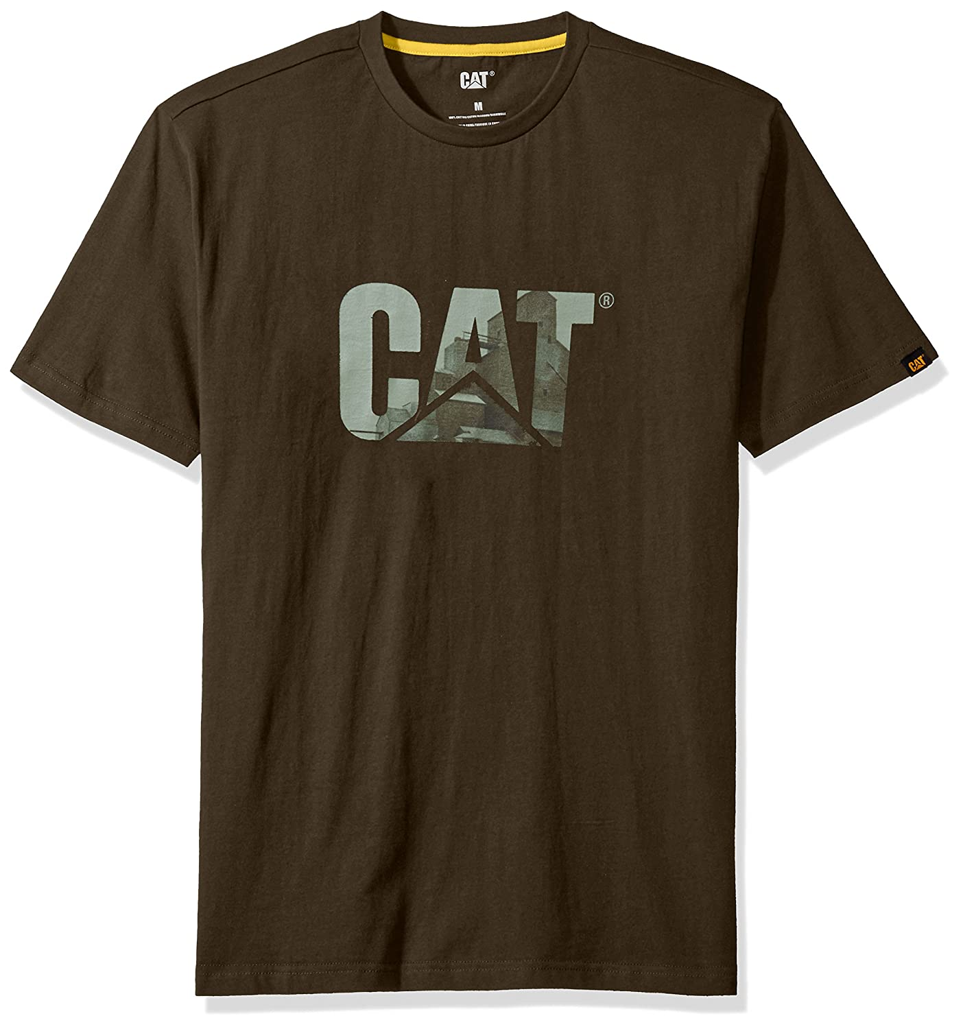 Caterpillar SHIRT メンズ B01N2VL5QK L|Grain Silo Grain Silo L