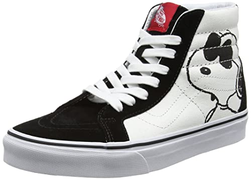bad25f9cbf Vans Peanuts Joe Cool Black SK8-Hi Reissue Trainers-UK 11  Amazon.ca ...
