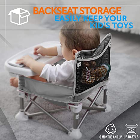 Amazon.com: Baby Seat Booster High Chair - Portable Toddler ...