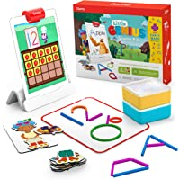 Osmo - Little Genius Starter Kit for iPad + Early Math Adventure - 6 Educational Learning Games - Ages 3-5 - Counting…