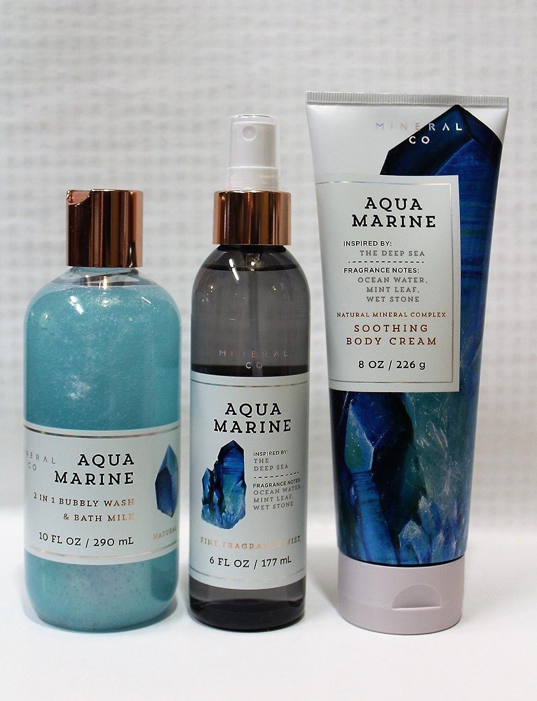 Amazon.com : Bath & Body Works ~ Signature Collection ~ Aquamarine ...