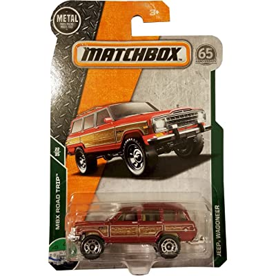 Matchbox 2020 MBX Road Trip 22/35 - Jeep Wagoneer (Red): Toys & Games