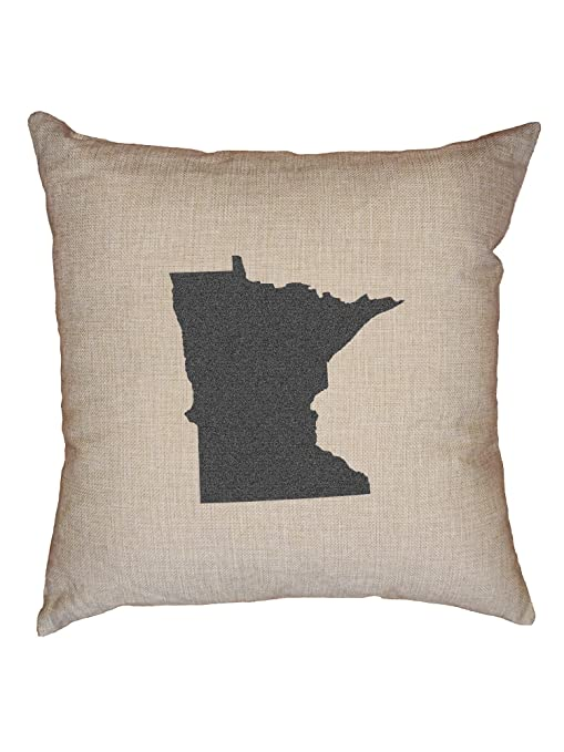 Amazon.com: Hollywood hilo Minnesota lino decorativo Throw ...