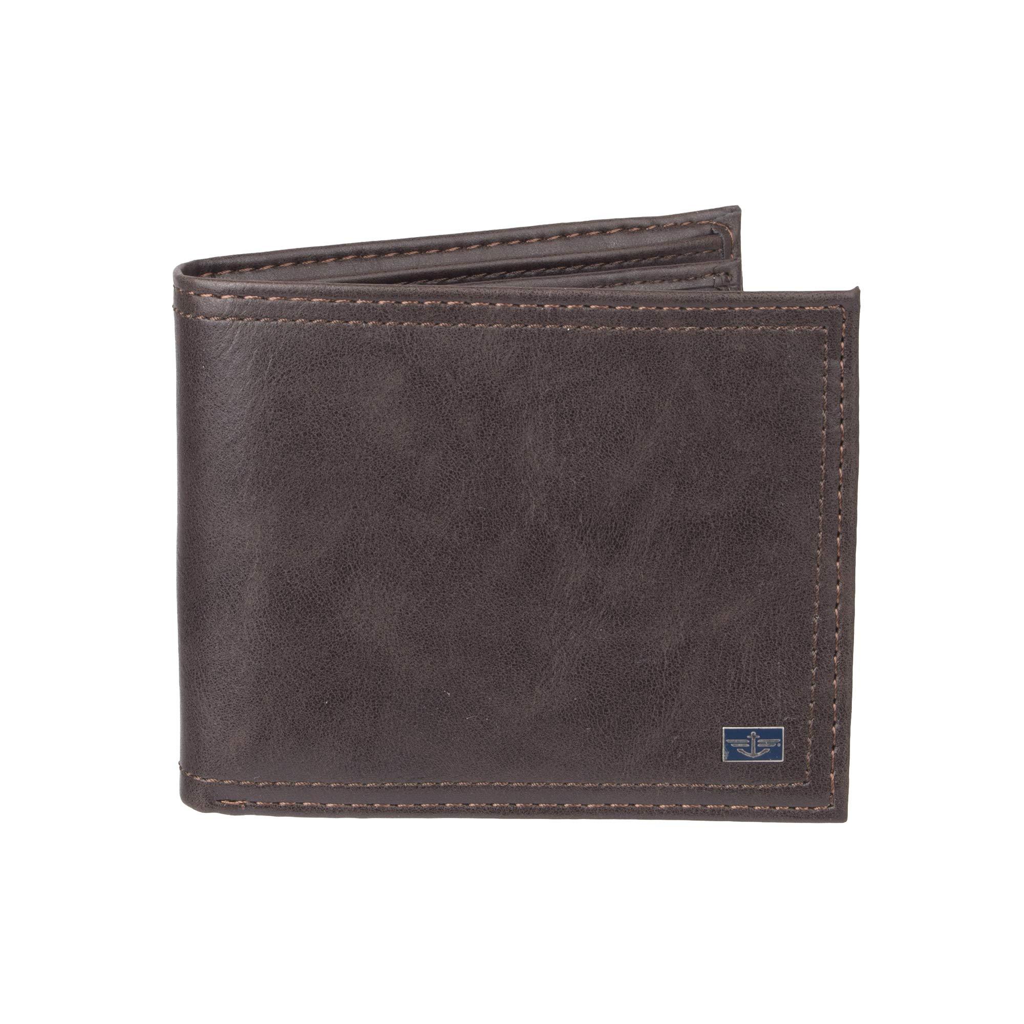 Columbia Mens RFID Security Blocking Extra-Capacity Slimfold Wallet