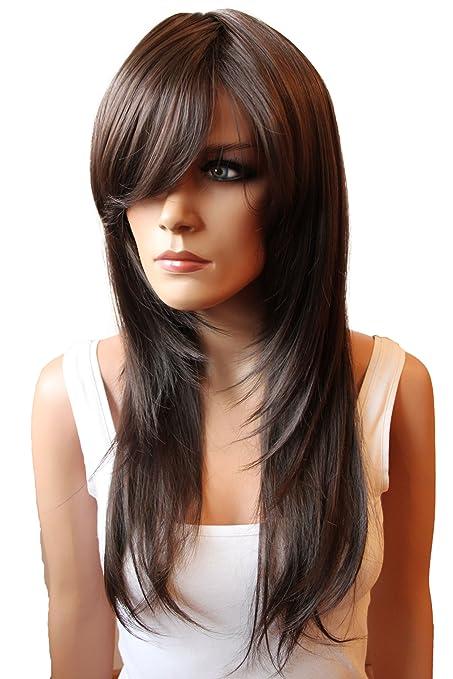 59 opinioni per PRETTYSHOP PRETTY SHOP unisex parrucca capelli lunghi fibra sintetica resistente