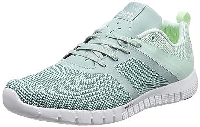 Reebok Women's Zquick Lite 2.0 Running Shoes, Grey (MistSeaside GreyWhite