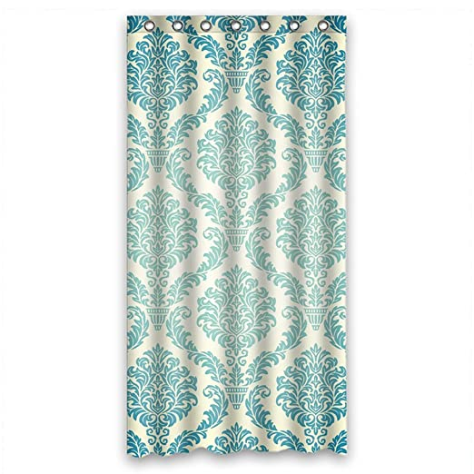 Custom Design Mildew Resistant Bohemian Shower Curtains Width X Height 36 72 Inches