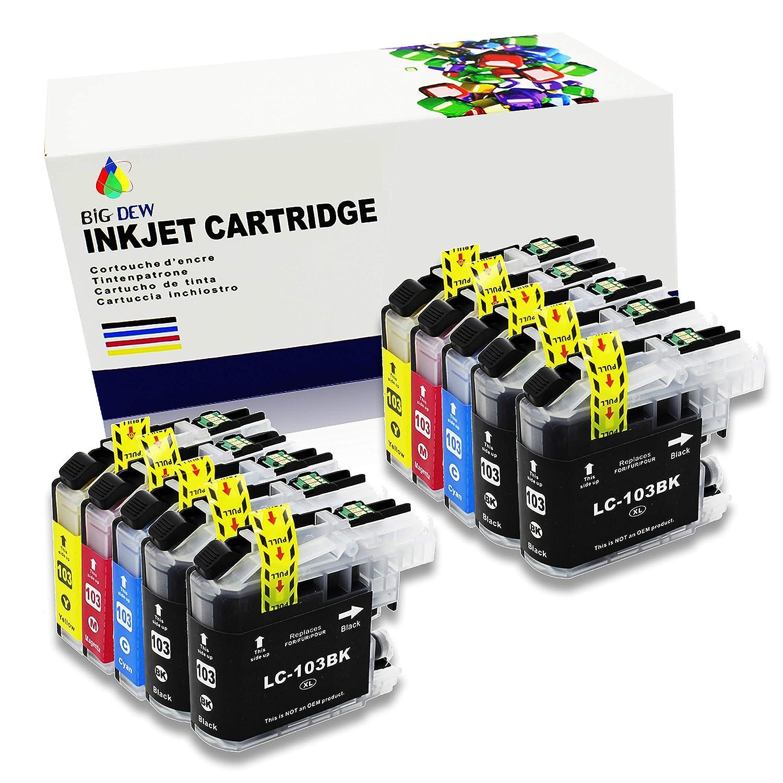 Big Dew - Cartuchos de Tinta compatibles para impresoras Brother ...