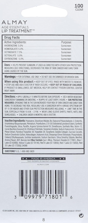 Amazon.com: almay Edad Essentials Lip Tratamiento, 0,24 onza ...