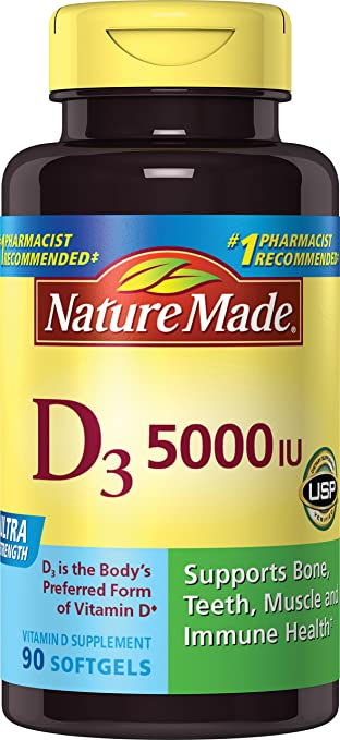 Best Vitamin D3 5000 Reviews. Compare Top 10 Vitamin D3 5000 - Magazine cover