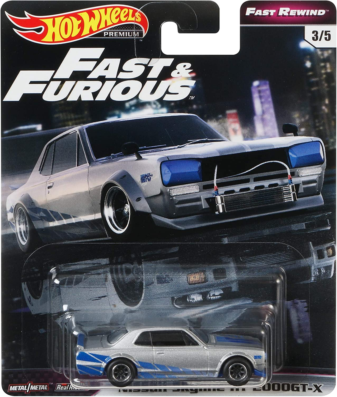 Hot Wheels Nissan Skyline R33 Vehicle