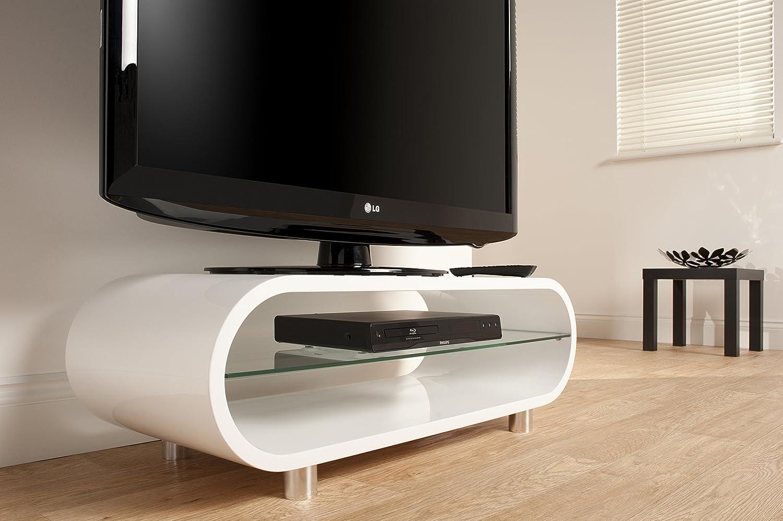 ovid ov  lcd  plasma tv stand to inch  gloss white amazoncouk tv. ovid ov  lcd  plasma tv stand to inch  gloss white amazon