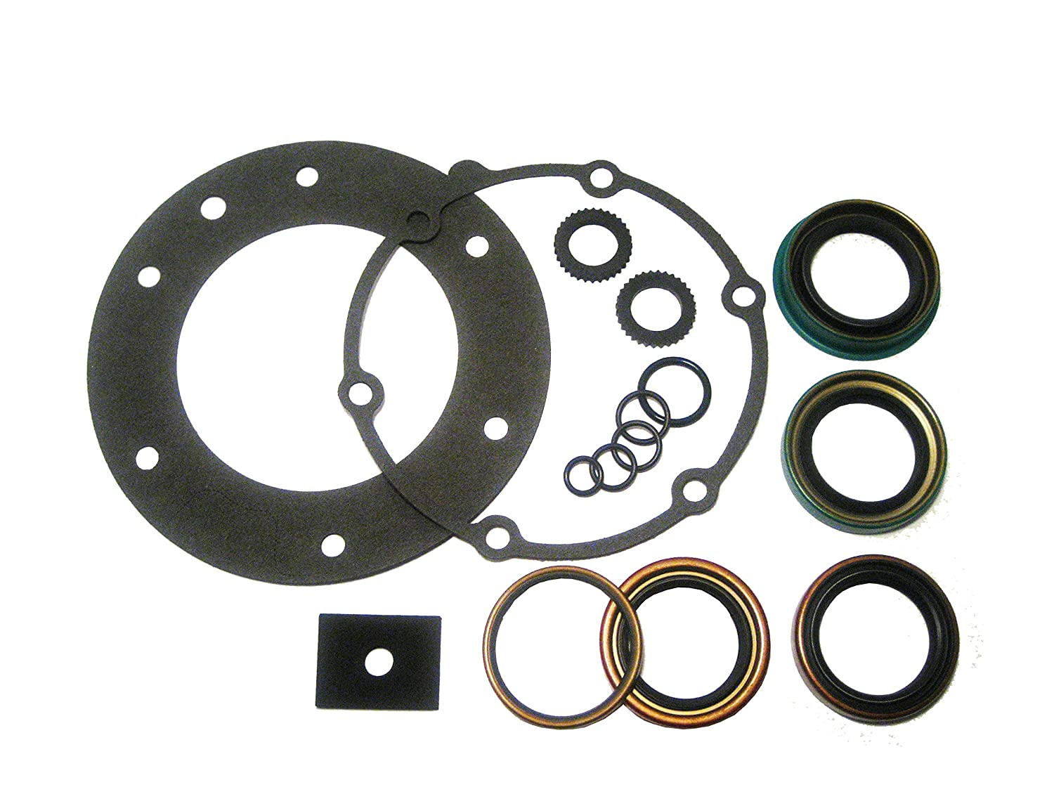 Vital Parts Transfer Case Gasket /& Seal Kit Fits GM NP 208 241 229 228 4WD Re-Seal Overhaul Kit