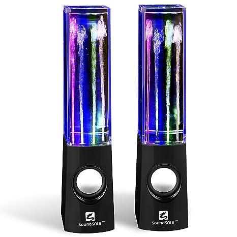 Review Water Dancing Speakers Light
