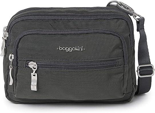baggallini Triple Zip Crossbody Bag