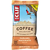 CLIF BAR Energy Bars - Coffee Collection - Caramel Macchiato (2.4 Ounce Breakfast Bars, 12 Count)