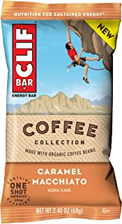 product image for Clif Bar Coffee Collection Energy Bars Caramel Macchiato, Caramel Machiatto, 12 Count