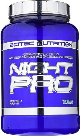 Scitec Nutrition Night Pro proteína vainilla 900 g