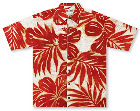 eead661e8 Hilo Hattie Hibiscus Mix Hawaiian Shirt at Amazon Men's Clothing store: