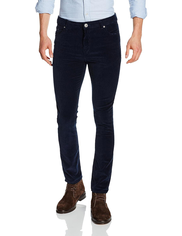 TALLA 32W / 32L. New Look Skinny Cord - Pantalones Hombre