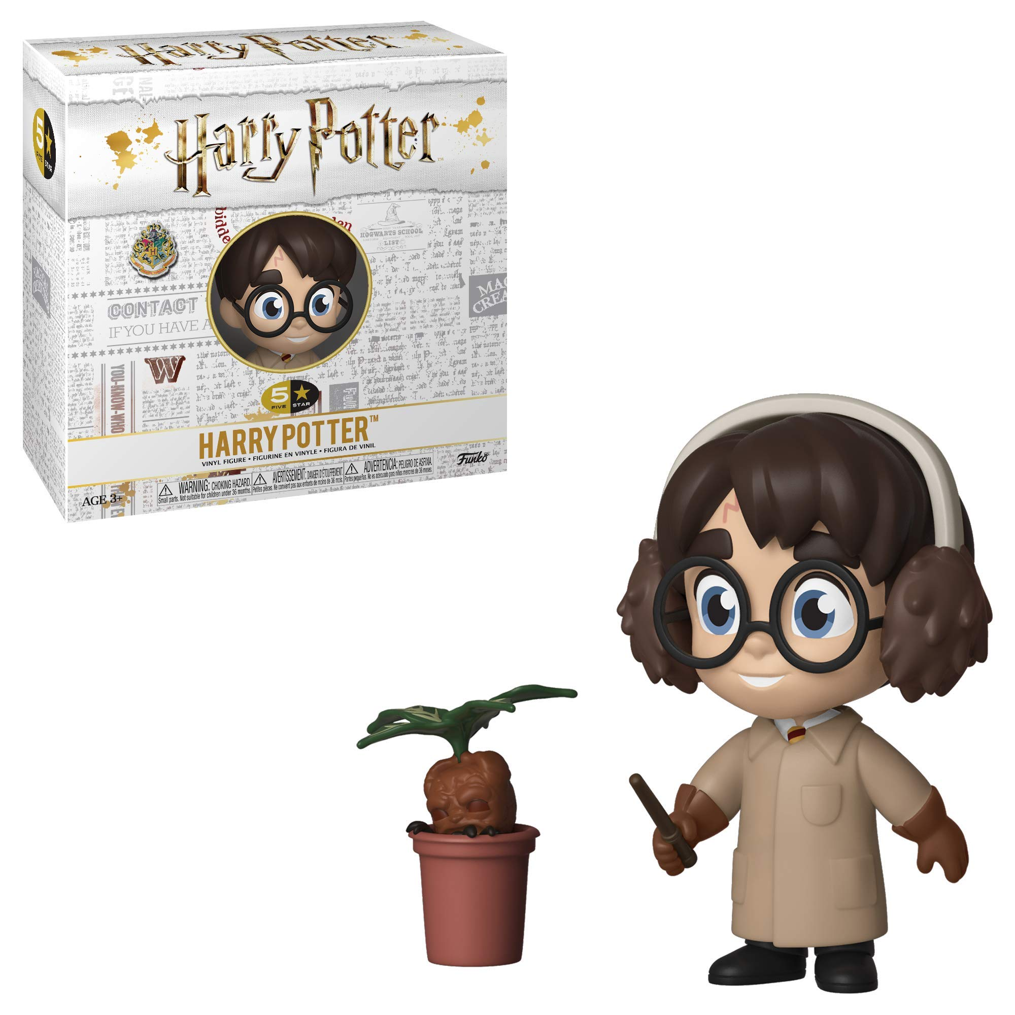 Funko Five Star Harry Potter with Quidditch Robes and Broom Exclusive Figure