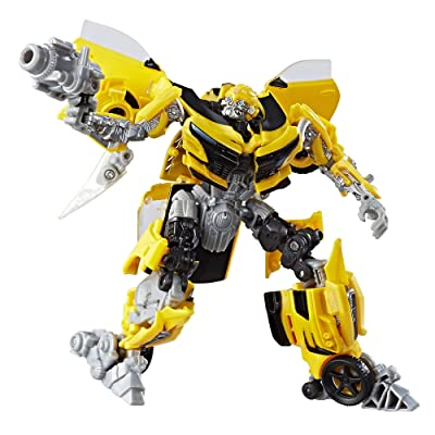 Transformers: The Last Knight Premier Edition Deluxe Bumblebee: Toys & Games