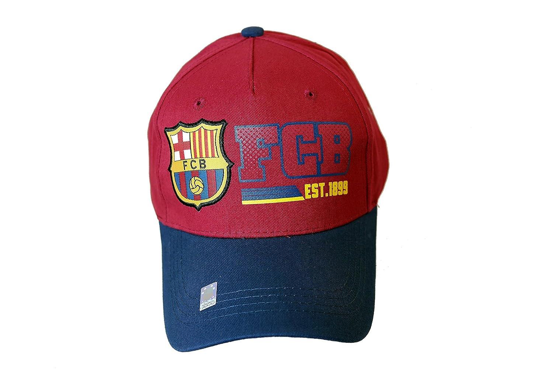 FC Barcelona Authentic Official Licensedサッカーキャップ B00JMRI7R0 Medium|FCバルセロナ4 (FC Barcelona 4)  Medium