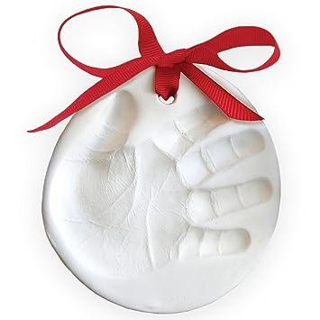 Amazoncom  Child to Cherish Marshmallow Clay Baby Handprint or