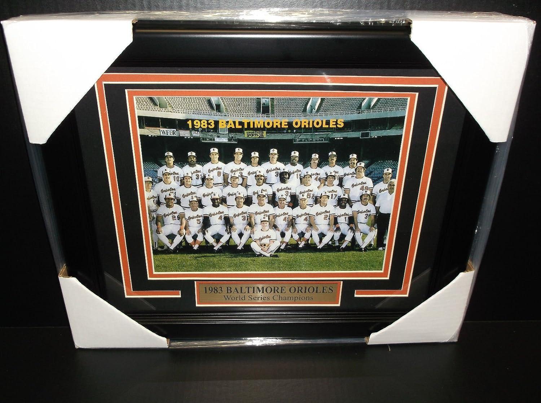 Baltimore Orioles 1983 World Series Champs Team Photo Scorecard 8X10 PHOTO