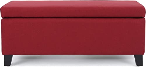 Christopher Knight Home Breanna Fabric Storage Ottoman