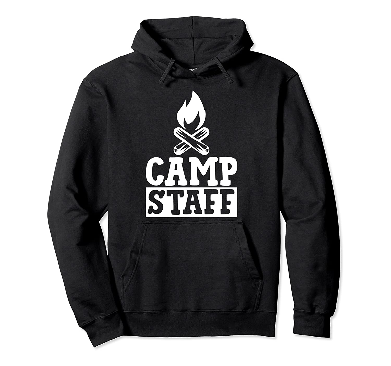Camp Staff Pullover Hoodie Men Women Teens- TPT