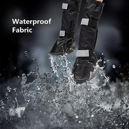 Hyindoor Chaussures Imperméable pour Chien Chaudes d'hiver