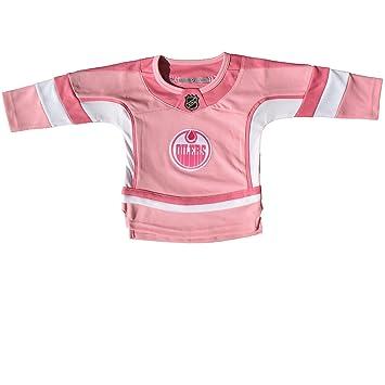 7855bf825 Edmonton Oilers Infant Girls Pink Fashion Jersey  Amazon.ca  Sports ...