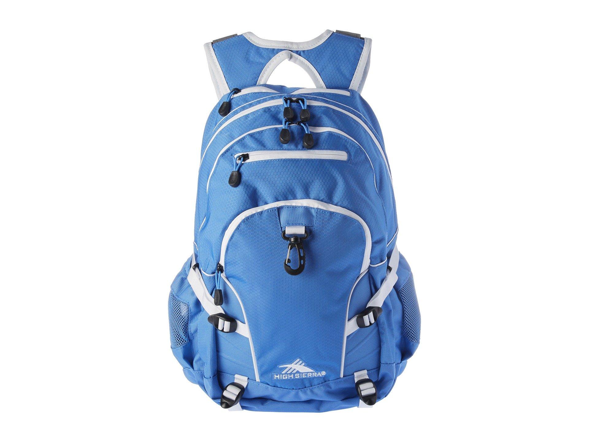 High Sierra Loop Backpack, Lapis/White