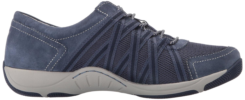 Dansko Women's Honor Sneaker B01HJCYYHG 38 EU/7.5-8 M US Blue Suede