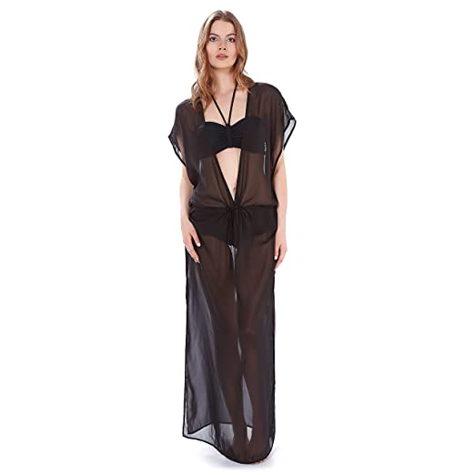 Freya Diva Plunge Neck Maxi Dress In Black Or White As3472 Sizes