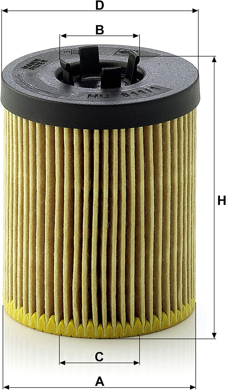 Mann Filter HU6111X Oil Filter
