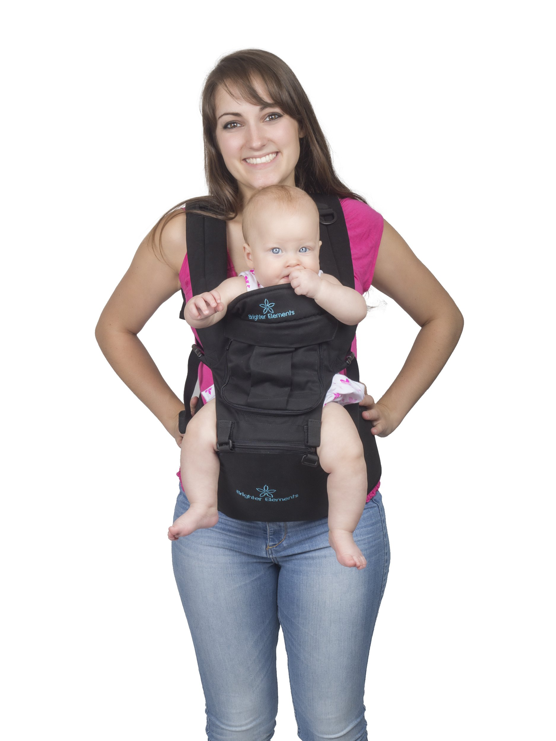 Amazon Com Brighter Elements Ergonomic Baby Carrier With