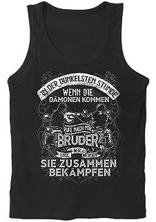 Zusammenhalt /& Brüderschaft Männer Herren T-ShirtMotorrad Biker Freunde