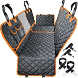 URPOWER 4-in-1 Convertible Dog Car Seat Cover 100% Waterproof Dog Seat Cover Nonslip Dog Hammock 600D Heavy Scratchproof Pet