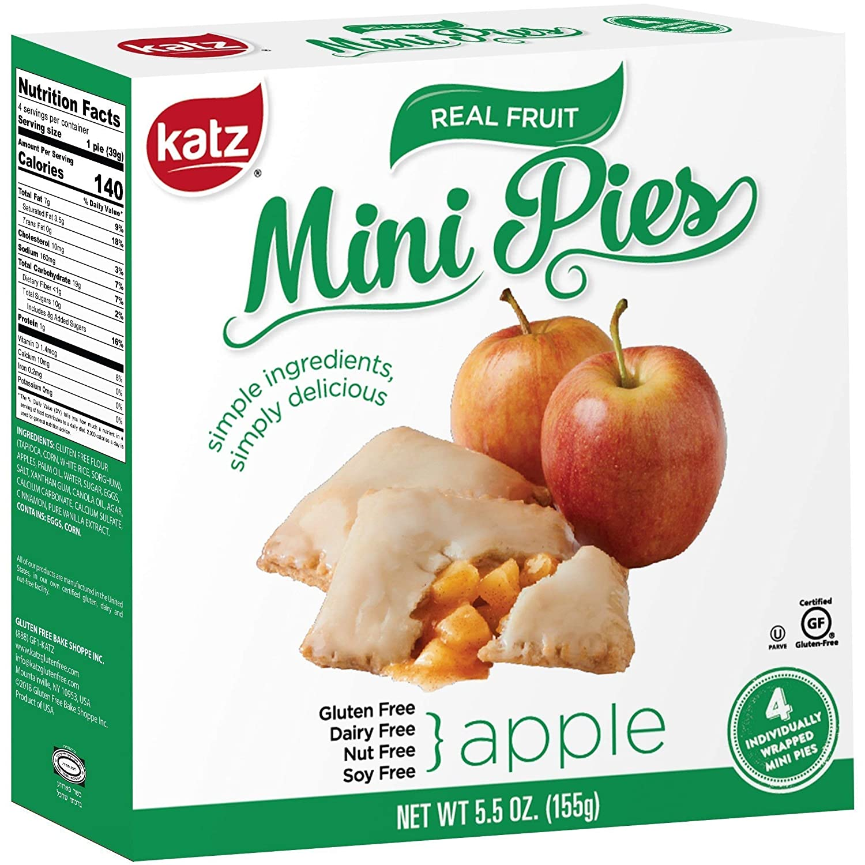 Katz - Mini tartas sin gluten: Amazon.com: Grocery & Gourmet ...