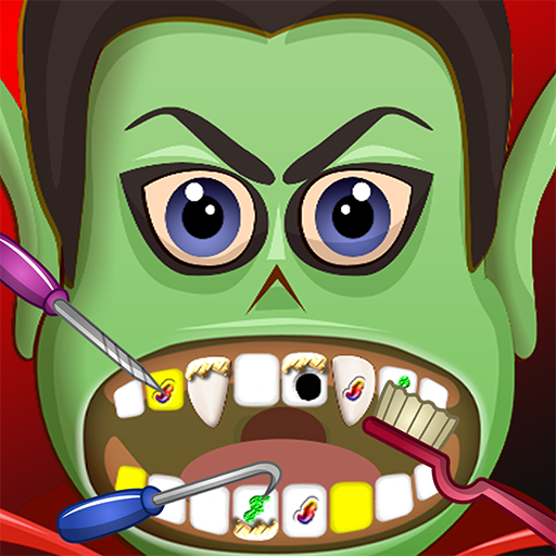 Spooky Halloween Dentist Office - Fun Kids Nurse and Doctor Games