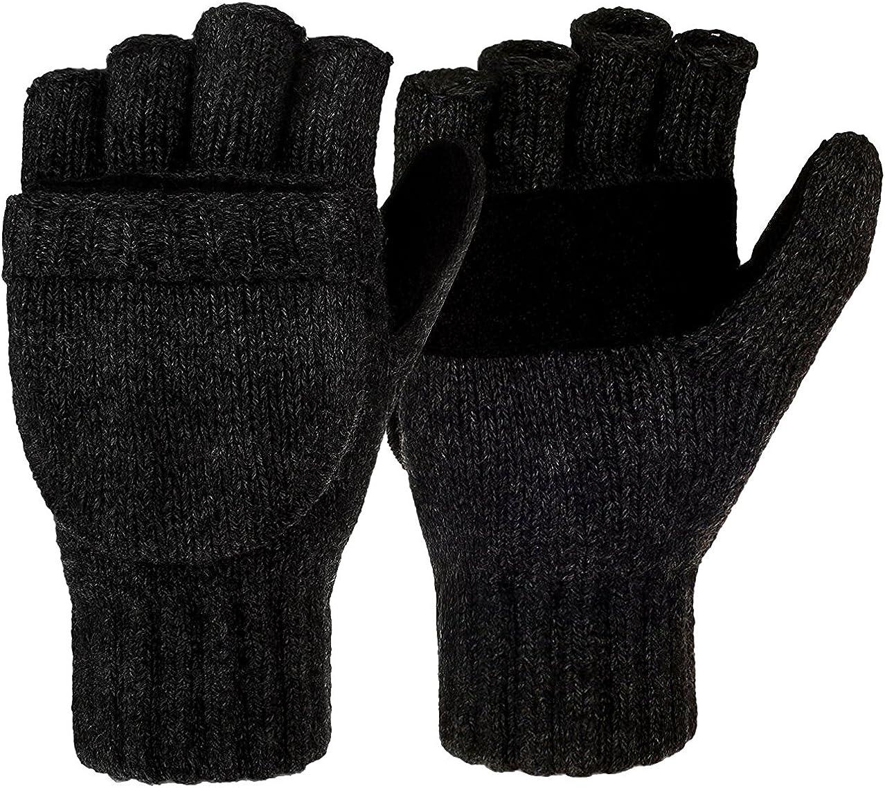Mens Winter Gloves Warm...
