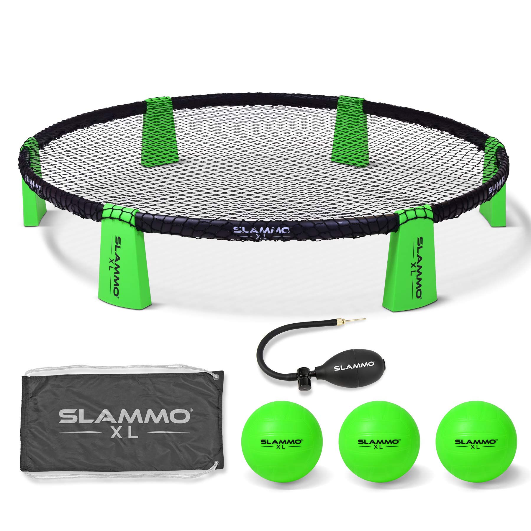 GoSports Slammo XL Game Set | Huge 48'' Net | Great for Beginners, Younger Players or Group Play