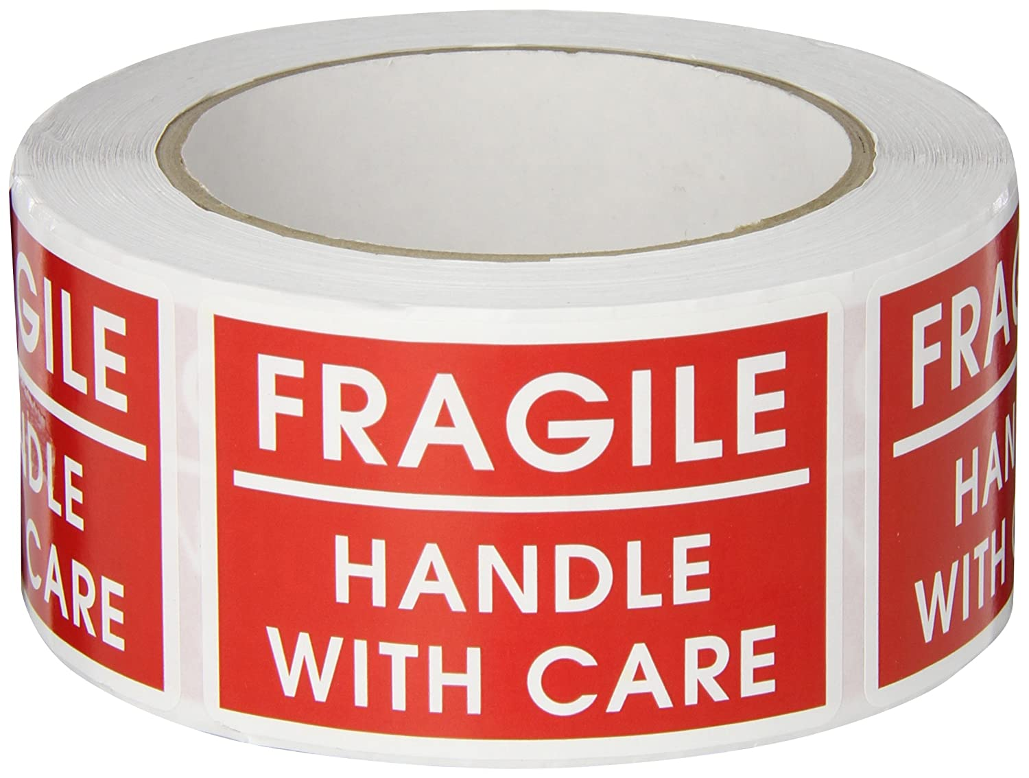 TapeCase SHIPLBL-036'Fragile Handle With Care' Label - 500 per pack