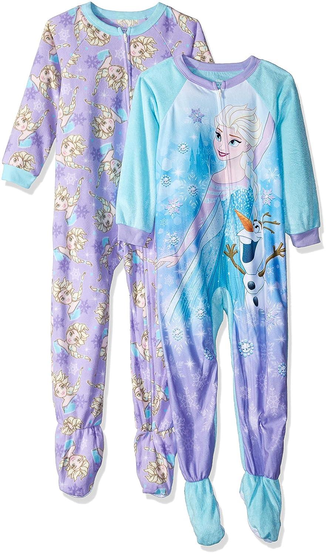 Disney Girls/' Frozen Elsa Minky Blanket Sleeper