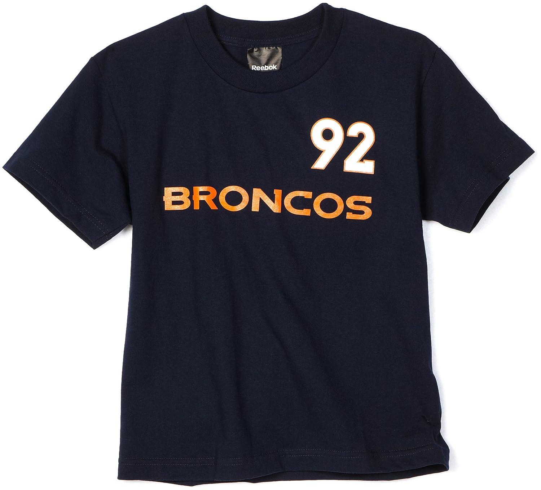 【初回限定お試し価格】 NFL ' Denver BroncosエルビスDumervil 8 – 20 Name 20 & 8 Number TeeシャツBoys ' Youth Large ブルー B005KDFBV0, インバグン:814ace63 --- a0267596.xsph.ru