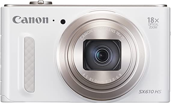 Canon PowerShot SX610 HS Digitalkamera (20,2 Megapixel, 18-fach opt. Zoom, 36-fach ZoomPlus, 7,5cm (3 Zoll) Display, opt. Bil